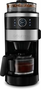 Gourmia GCM4850 Built-In Grind and Brew Coffee Maker| 6-Cup