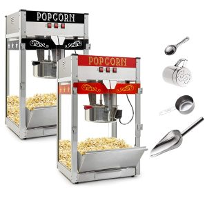 Olde Midway Commercial 12-Ounce Popcorn Machine Maker