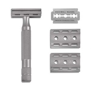 Rockwell Razors Adjustable 6S Stainless Steel Safety Razor Blades