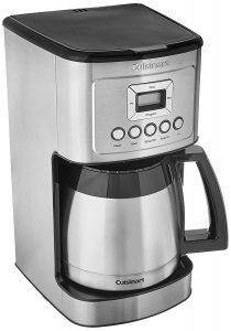 Cuisinart DCC-3400 12 Cup Steel Thermal Coffeemaker