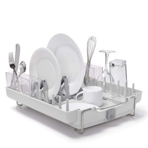 OXO Good Grips Stainless Steel Convertible Dish Rack