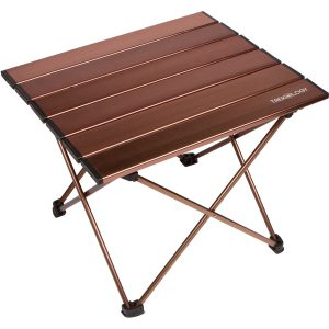 Trekology portable hard-topped camping side tables