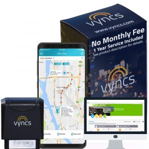 Vyncs GPS Tracker Real Time 3G Car GPS Tracking Trips
