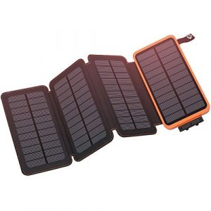 Hiluckey-Solar Charger 25000mAh, Outdoor Portable Power Bank