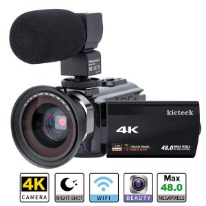 Kicteck Video Camera Camcorder