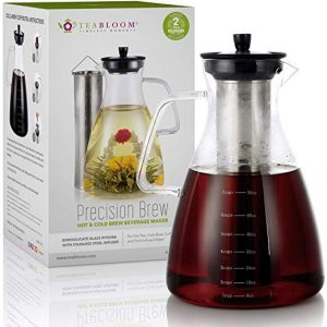 Teabloom Precision Extra Large 68 OZ All-Brew Beverage Maker