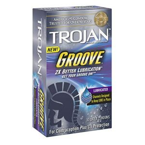 Trojan Groove Lubricated 10 Count Condoms