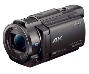 Sony 4K HD Video FDRAX3 Camcorder