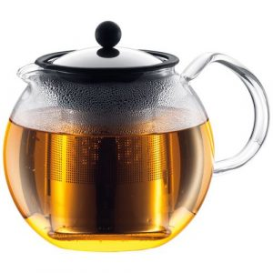 Bodum Assam Glass 1.5-Liter Tea Press with Steel Filter