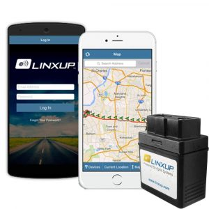 Linxup OBD Real Time 3G GPS Tracker Car Locator