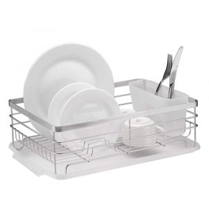 Neat-O- Stylish Stainless Steel Wire Dish Drainer Drying Rack
