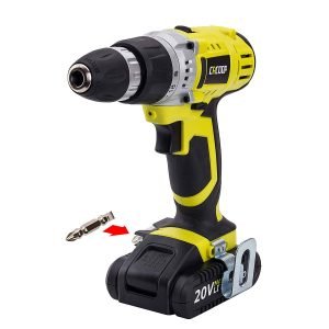 CACOOP Variable 2-Speed Compact Lightweight Cordless Drill Driver