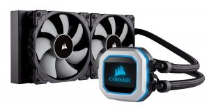Corsair HYDRO Series H100i PRO RGB AIO Liquid CPU Cooler