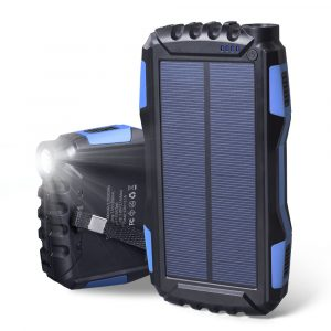 Elzle Portable Solar Power Bank