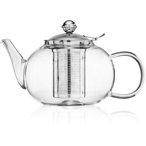 Nest Above Glass 1200ml:40oz Large Capacity Teapot
