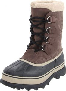 SOREL Men's Grill and Dark Ginger Caribou boots
