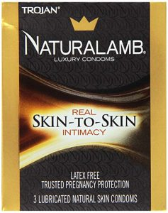 Trojan Naturalamb 3 Pc - 2 pack Condom Lubricated Natural Skin