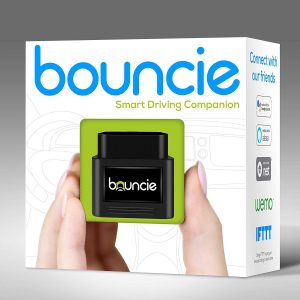 Bouncie Connected OBD2 Car Adapter for Location Tracking