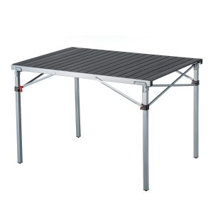 KingCamp Steel Frame Folding Camp Table Supports 176lbs