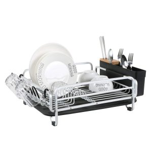 kingrack- Aluminum Cutlery Holder Dish Drying Rack