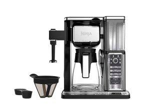 Ninja CF091 50 oz, Silver Coffee Makers