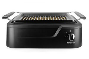 Tenergy Redigrill Smokeless Indoor Grill Infrared Heating Electric Grill