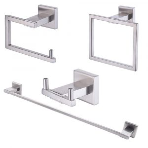 KES 4-Piece Bathroom Towel Bar