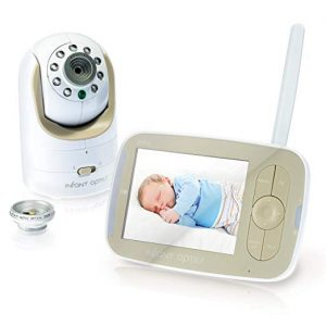 Infant Optics DXR-8 Video Interchangeable Optical Lens Baby Monitor