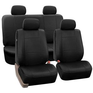 FH Group PU Leather Car Seat Covers