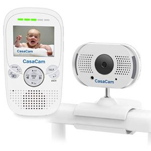 CasaCam BM100 Video Automatic Night Vision Baby Monitor
