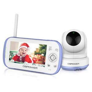 DBPOWER Video 270o Pan-Tilt-Zoom Baby Monitor