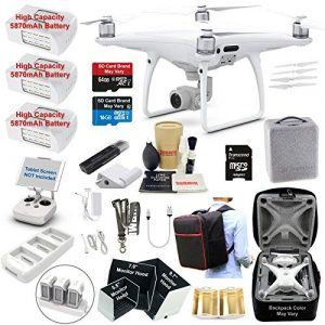 DJI Phantom 4 PRO Drone Quadcopter Bundle Kit