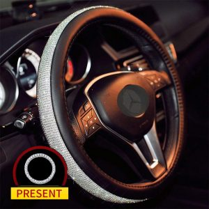 Sino Banyan Cystal Steering Wheel Cover