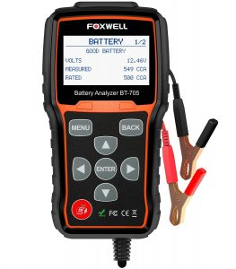 FOXWELL BT705 Automotive Battery Load Tester
