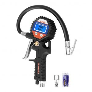 SUAOKI Digital Tire 150 PSI Pressure Gauge with Hose