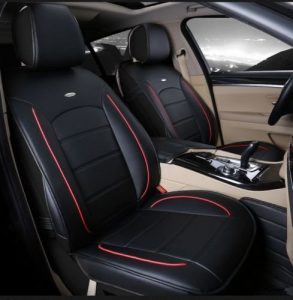 Amooca Luxurious Universal Full Set Car Seat Cushion Cover