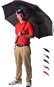 Athletico Automatic Open 62:68 Inch Windproof and Waterproof Golf Umbrella