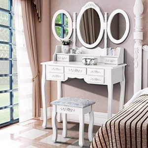 Mecor Vanity Makeup Table