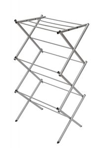 STORAGE MANIAC 3-tier Steel Clothes Drying Rack