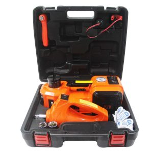 M PLUS 4 in 1 Electric Hydraulic Floor Jack