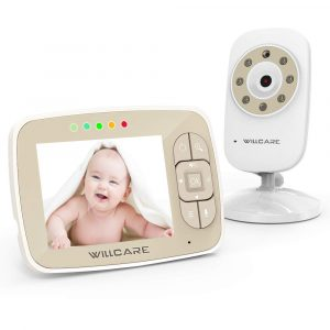 UU Infant- Baby Monitor Two-Way Talk Video Baby Monitor