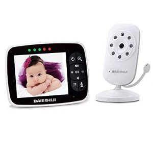 BABYPAT- Video Two-Way Talk Back Baby Monitor