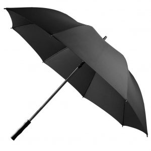 UROPHYLLA 62 Inch Windproof Golf Umbrella Automatic Open Stick-Black