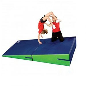 Greatgymats Large Gymnastics Incline Cheese Wedge Tumbling Mat