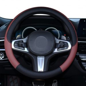 SHIAWASENA Car Steering Wheel Cover