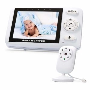 ENSTER Video Baby Monitor with Two-Way Audio and Digital Camera