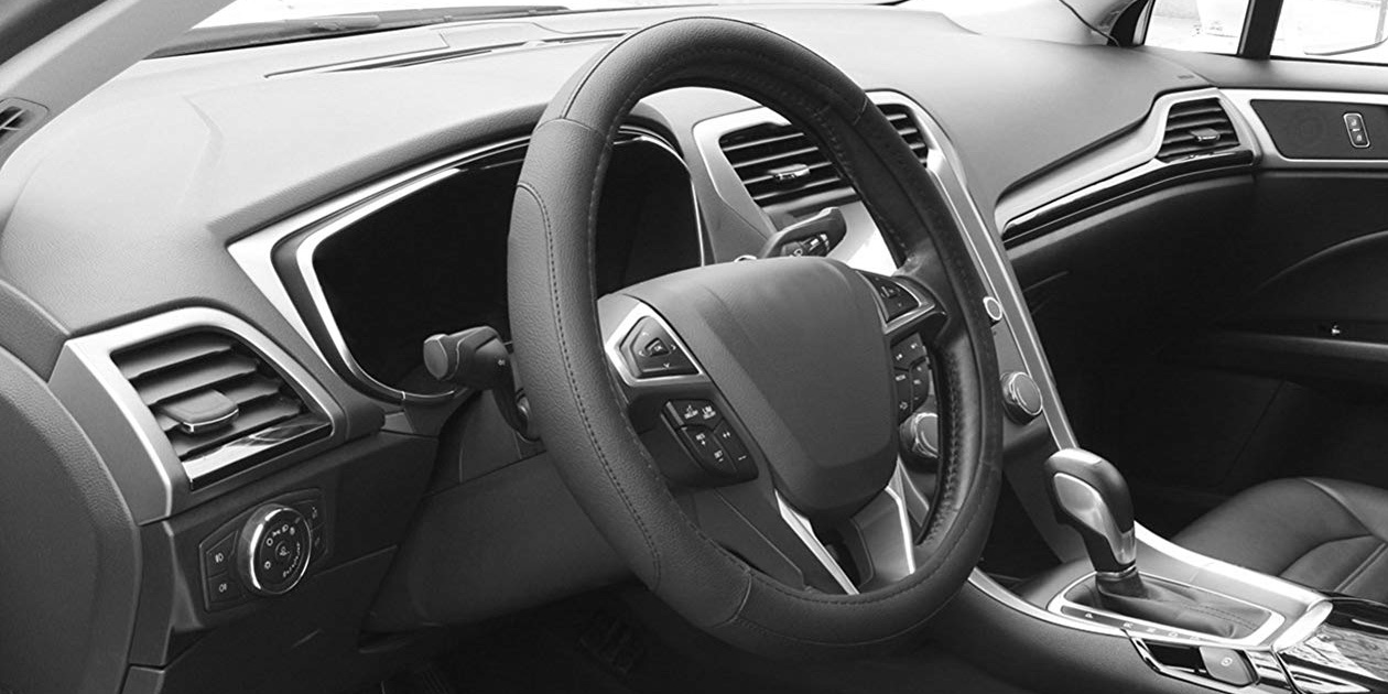 Leather Steering Wheel Covers