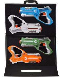 DYNASTY TOYS Laser Tag with Carrying Case for Kids