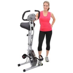 Exerpeutic Magnetic Folding Upright Bike with Pulse
