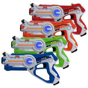 Kidzlane Indoor and Outdoor Infrared Laser Tag, 4 Set